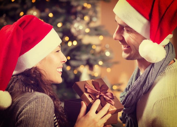 Harmonische Weihnachten als Paar   © panthermedia.net / Subbotina