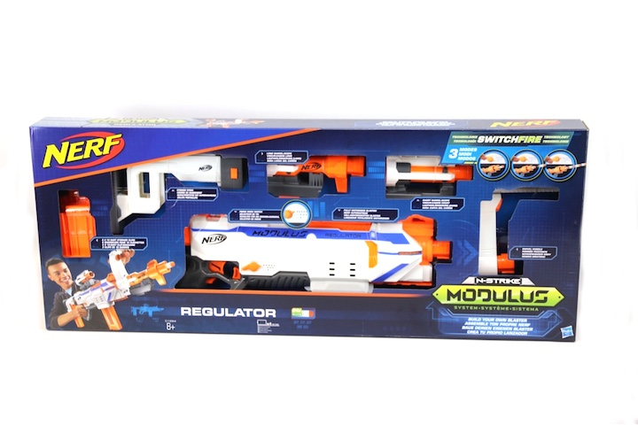 Der neue NERF Teamsport: Nerf N-Strike Modulus Regulator