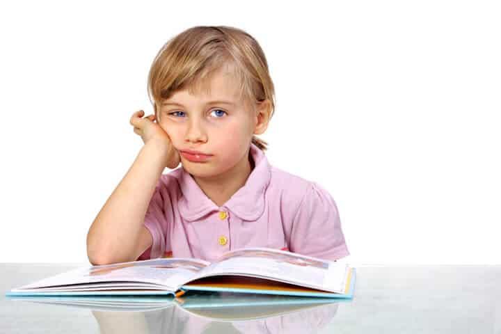 Hausaufgabenfrust statt Lust | © panthermedia.net / Verena Böhm-Filieri