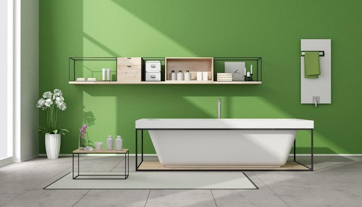 Schicke Badewanne fuer zwei Personen | © panthermedia.net / paolo de santis