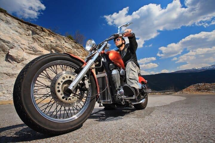 Der Traum vom eigenen Motorrad | © panthermedia.net / ljupco