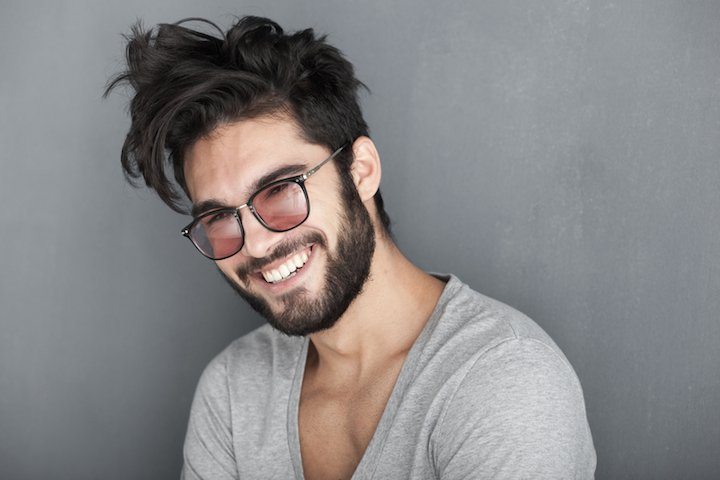 Sexy Mann mit Brille | © panthermedia.net /matusciac